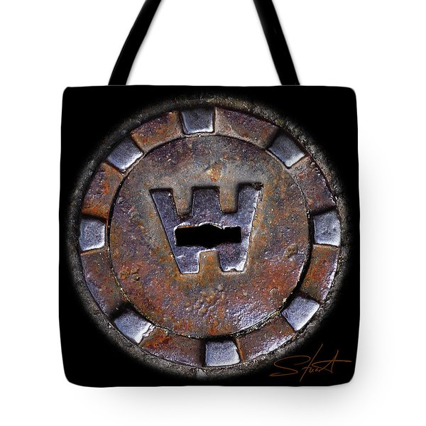 Water Hole 3 Tote Bag by Charles Stuart