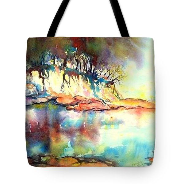 Water Inlet Tote Bag