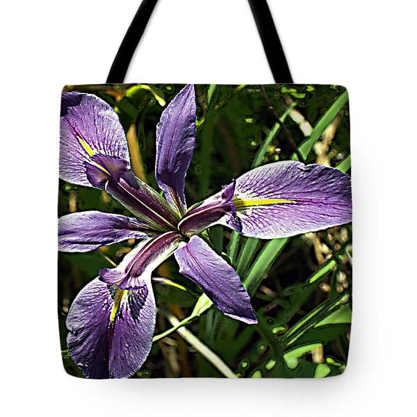Water Iris Tote Bag