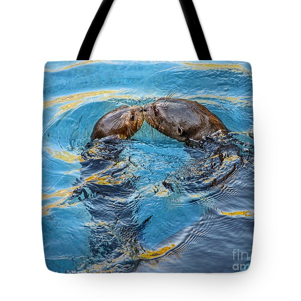 Water Kisses Tote Bag
