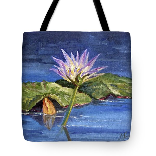 Water Lilie - Morning Tote Bag