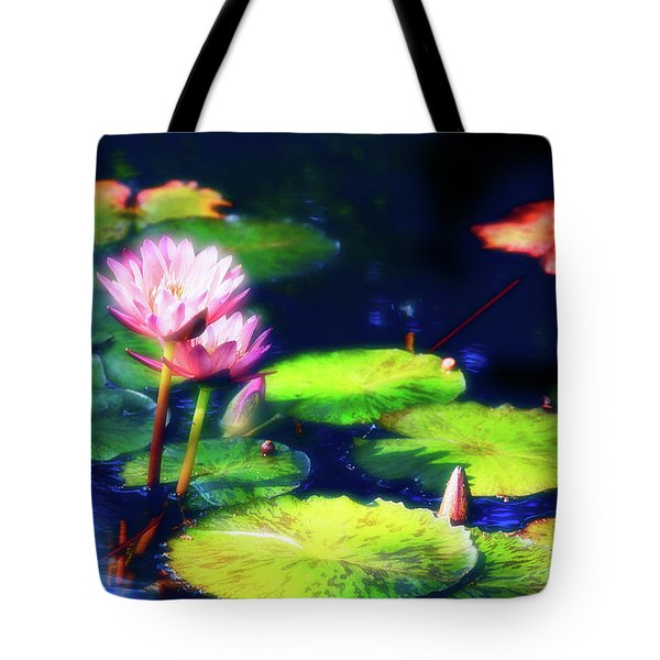 Water Lilies Tote Bag by Harry Spitz