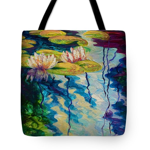 Water Lilies I Tote Bag