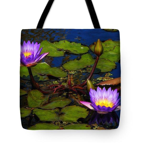 Water Lilies Iv Tote Bag
