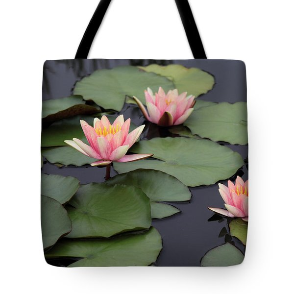 Tote Bag featuring the photograph Water Lilies by Jessica Jenney