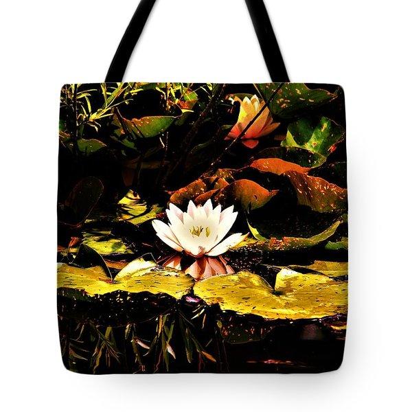 Water Lilies Tote Bag