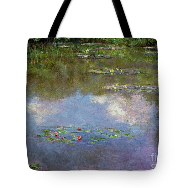 Water Lilies, The Cloud, 1903 Tote Bag
