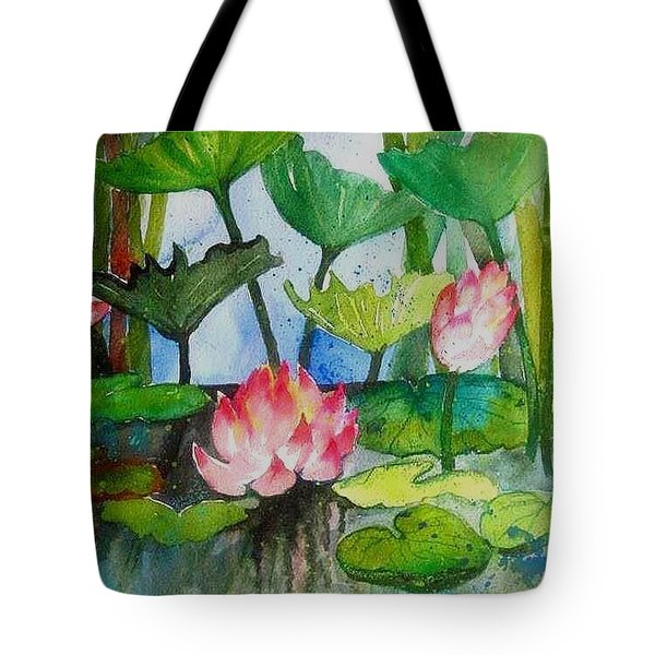 Water Lillies Two Tote Bag