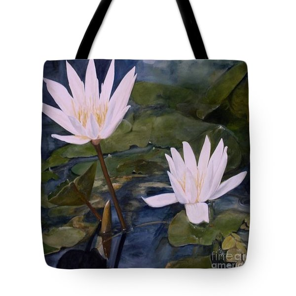 Water Lily At Longwood Gardens Tote Bag by Laurie Rohner