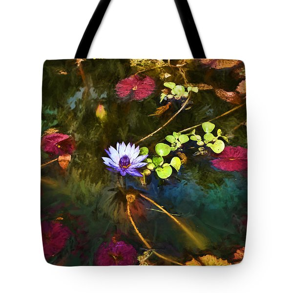 Water Lily Dreams Tote Bag
