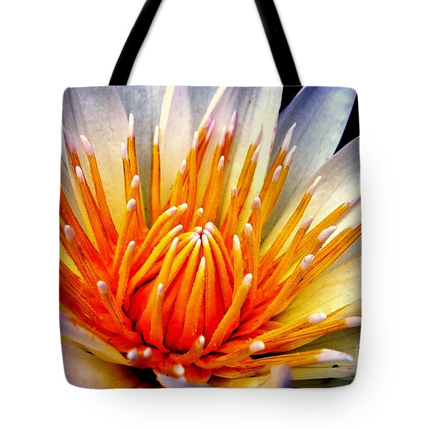 Water Lily Flower Tote Bag