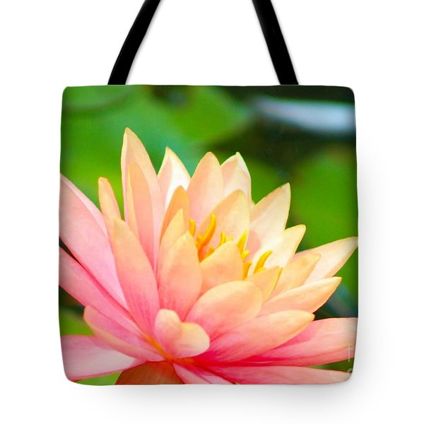 Floating Water Lily  Tote Bag