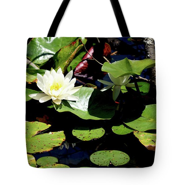 Water Lily Tote Bag by Meta Gatschenberger