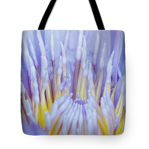 Water Lily Nature Fingers Tote Bag by Carol F Austin