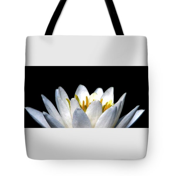 Water Lily Petals Tote Bag by Angela Davies