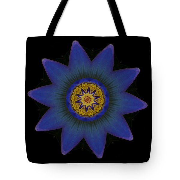 Water Lily Purple Tote Bag