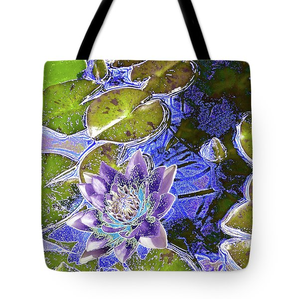 Water Lily Tote Bag by Robert Ball