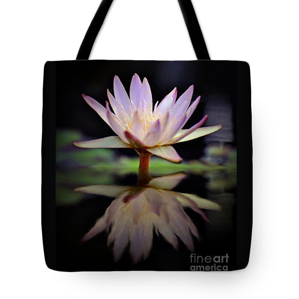 Tote Bag featuring the photograph Water Lily by Savannah Gibbs