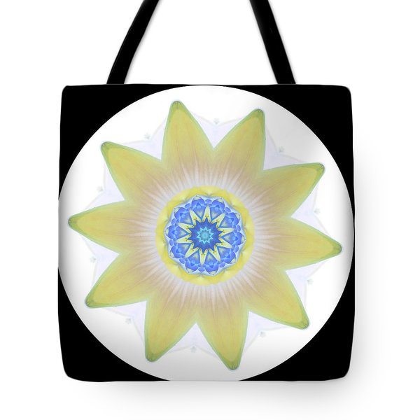 Water Lily Yellow Tote Bag