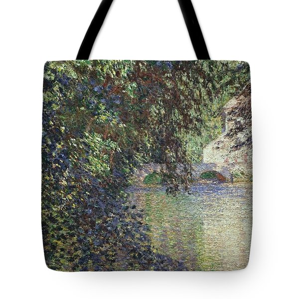 Water Mill At Limetz Tote Bag