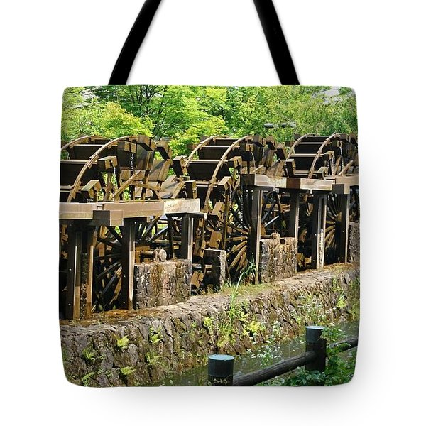 Water Wheel2 Tote Bag