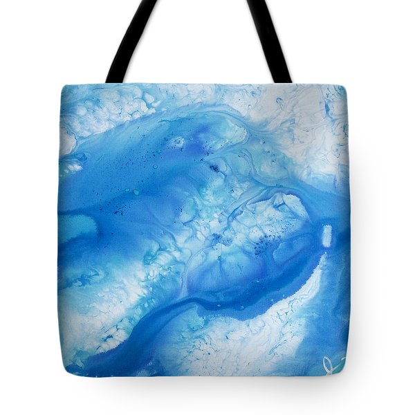 Water Miracles #1 Tote Bag by Jacqueline Martin