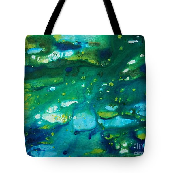 Water Movement Tote Bag