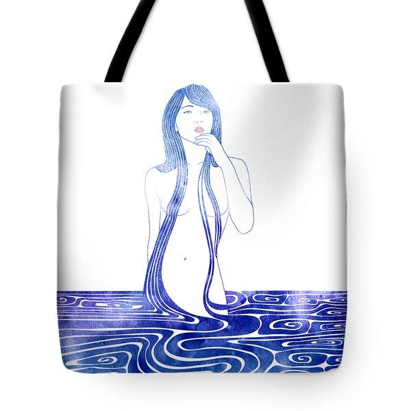 Water Nymph C Tote Bag
