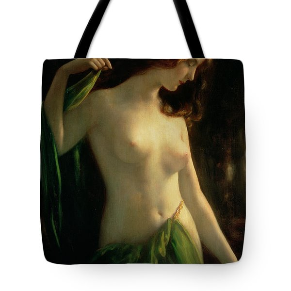 Water Nymph Tote Bag
