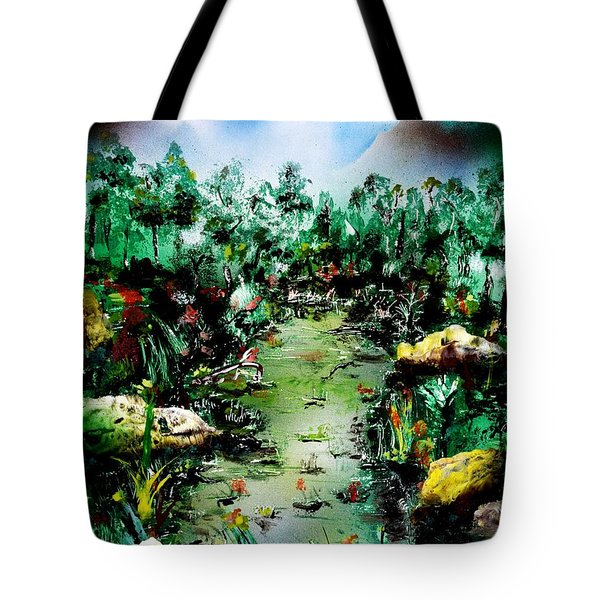 Water Of Life Tote Bag