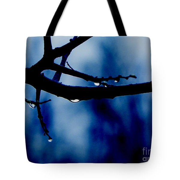 Water On Branch Tote Bag
