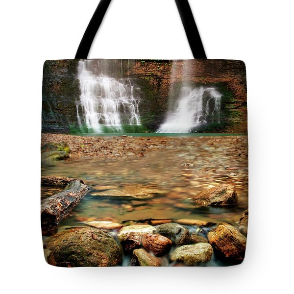 Water Path Tote Bag by Tamyra Ayles