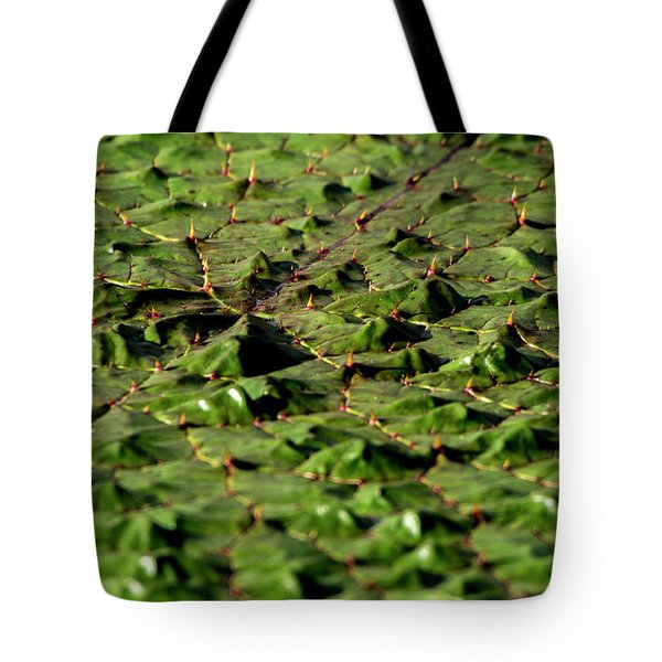 Tote Bag featuring the photograph Water Plant 3 by Buddy Scott