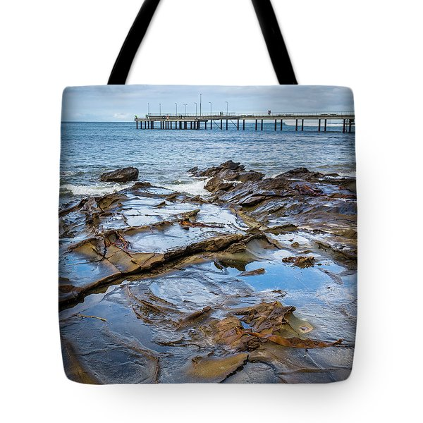 Tote Bag featuring the photograph Water Pool by Perry Webster