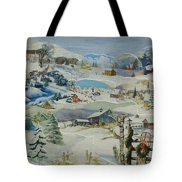 Water Pump In Winter - Sold Tote Bag