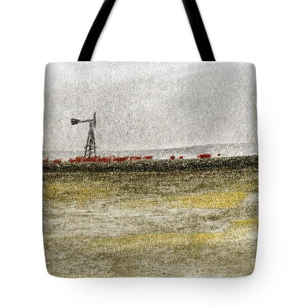 Water, Ranching, And Cattle Tote Bag by R Kyllo