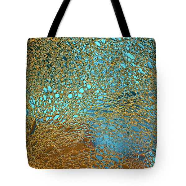 Water Reef Abstract Tote Bag