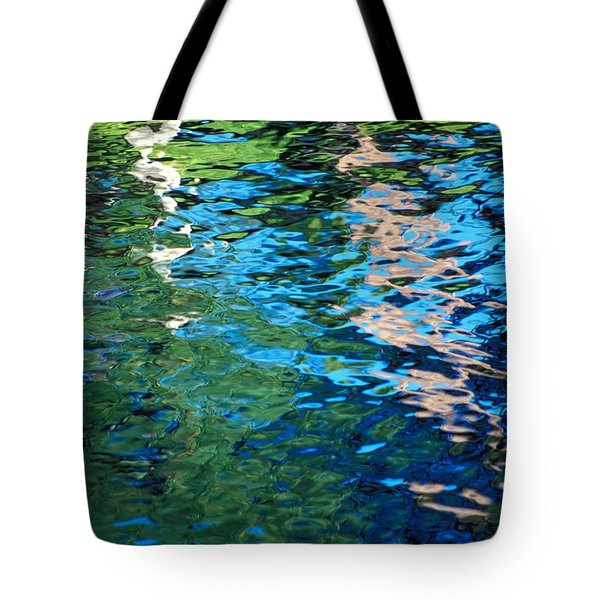 Water Reflections Tote Bag by Bill Brennan - Printscapes