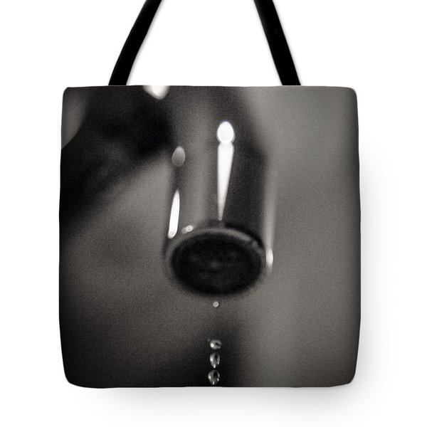 Water Runs Dry Tote Bag
