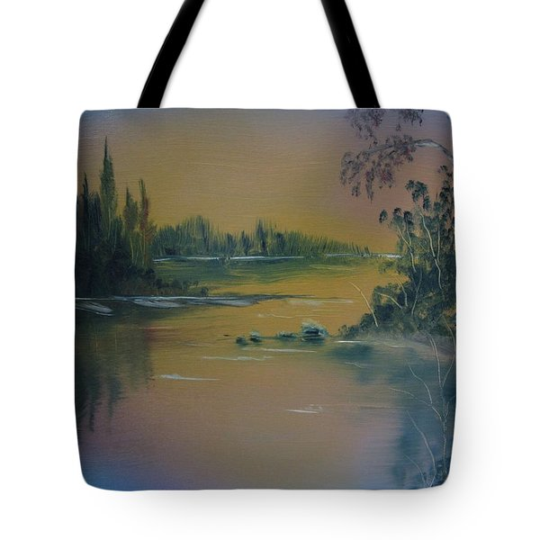 Water Scene 2a Tote Bag
