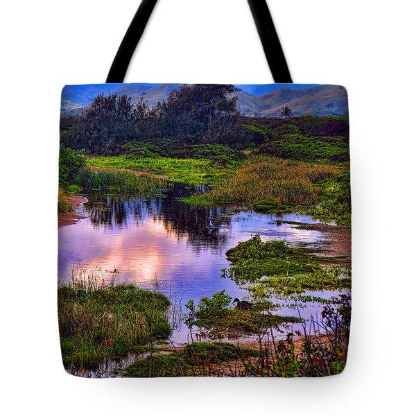 Water Scene Beauty 3 Tote Bag