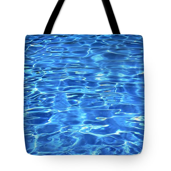 Water Shadows Tote Bag