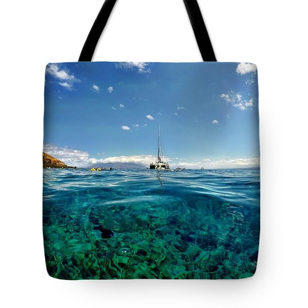 Water Shot Tote Bag by Michael Albright