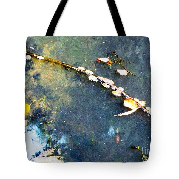 Water, Sky, Stick Tote Bag