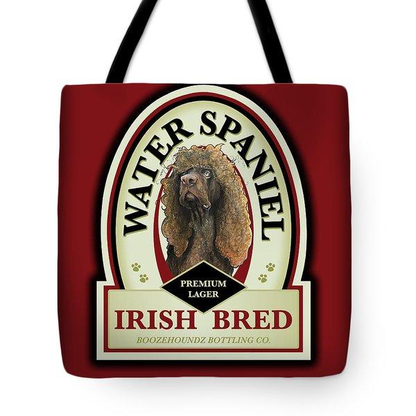 Water Spaniel Irish Bred Premium Lager Tote Bag