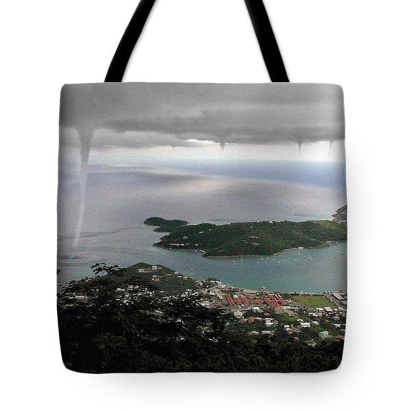 Water Spout Tote Bag