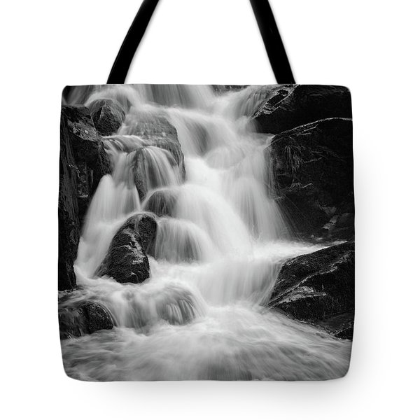 water stair close to the Heinrich Heine hiking way, Harz Tote Bag