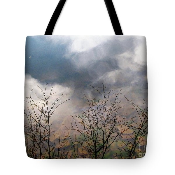 Tote Bag featuring the photograph Water Study by Melissa Stoudt