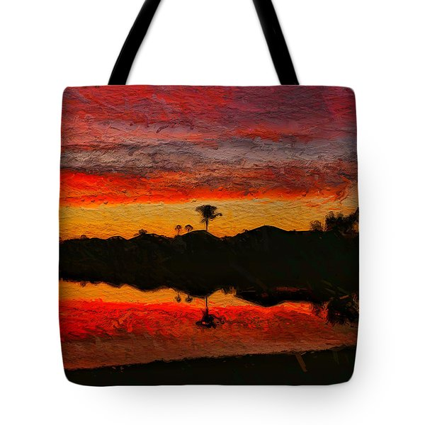 Winter Sunrise I Tote Bag