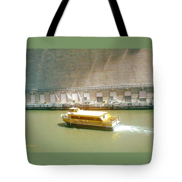 Water Texi Tote Bag